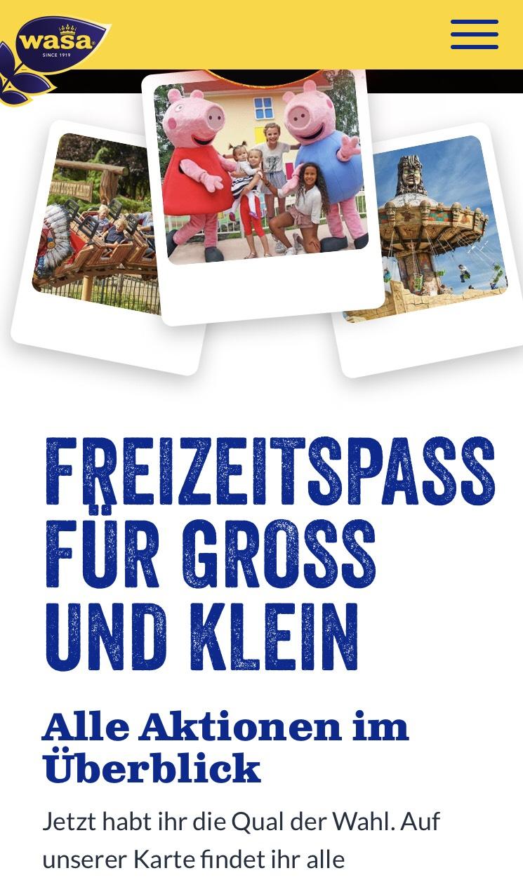 2 für 1 Aktion Freizeit Aktion [Holiday Park Pfalz][Heidepark Soltau][Movie Park] Escape Rooms, Wellness, Go Kart