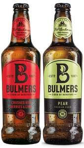 Bulmers Crushed Red Berries oder Pear für 1 € bei real ...bundesweit
