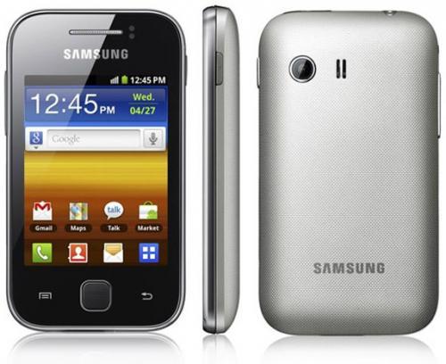 Samsung Galaxy Y Metallic Gray S5360 für 79,90€ inkl. VSK