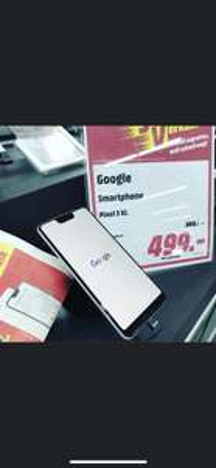 Lokal Mediamarkt Emmendingen Google Pixel 3 XL