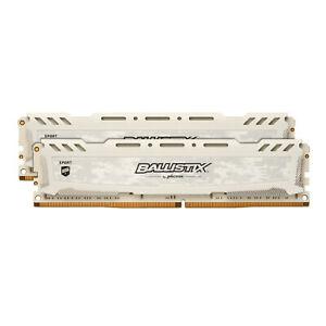 MediaMarkt Ebay BALLISTIX Sport LT 16 GB (2 x 8 GB) Kit 3000 CL15 weiß, Arbeitsspeicher RAM DDR4