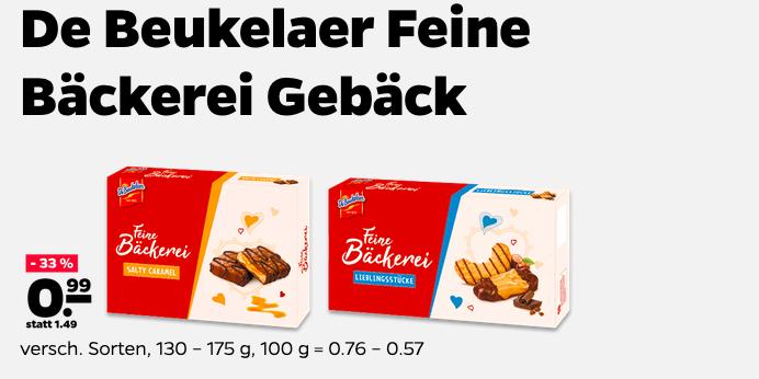 LOKAL NETTO - De Beukelaer Feine Bäckerei Gebäck Bei Netto 33% Rabatt