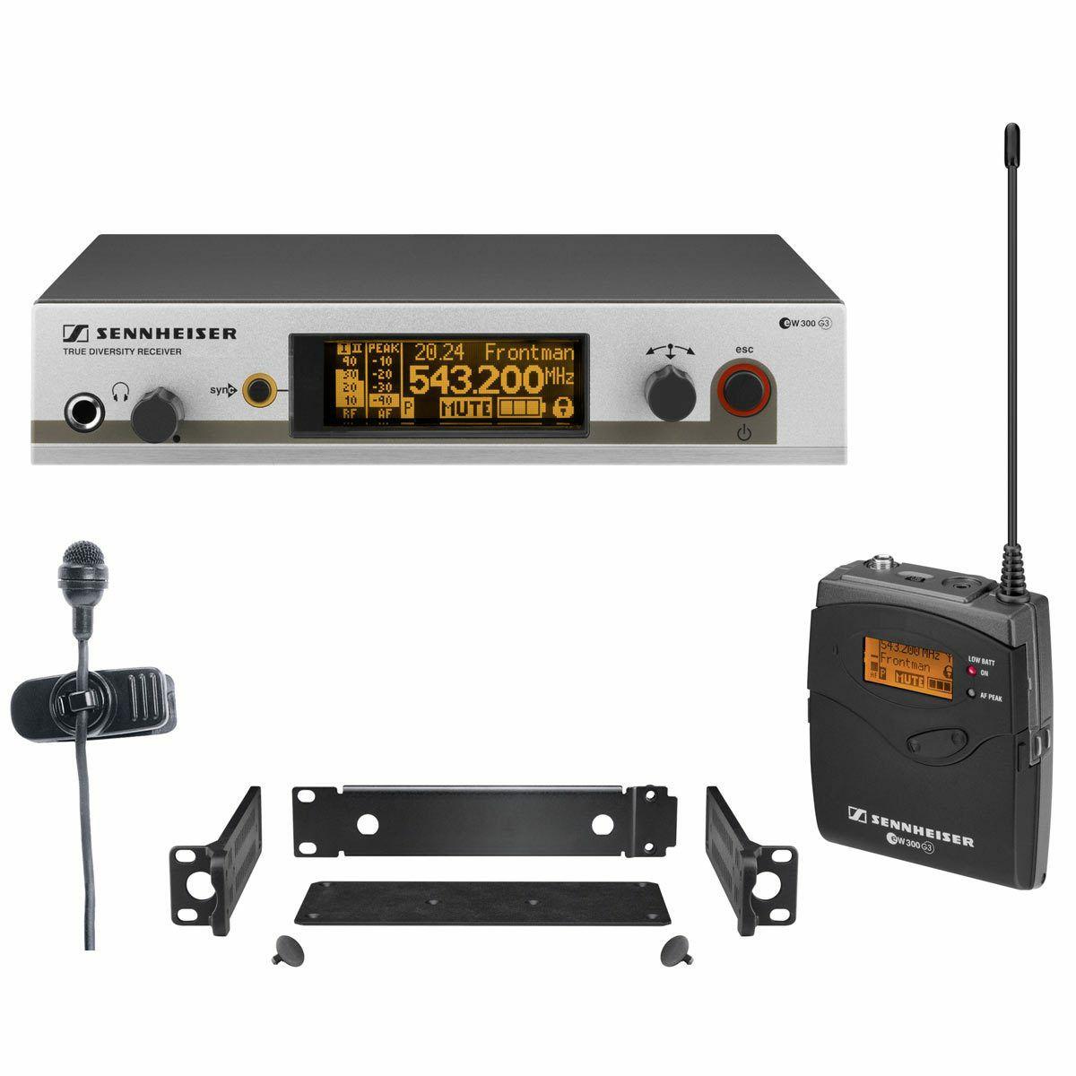 Sennheiser EW 322 G3-B-EU Mikrofonsystem (626-668MHz, 80Hz-18kHz)