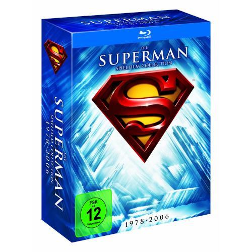 Superman - Die Spielfilm Collection 1978-2006 [Blu-ray] für 18,97 Euro @ Amazon.de