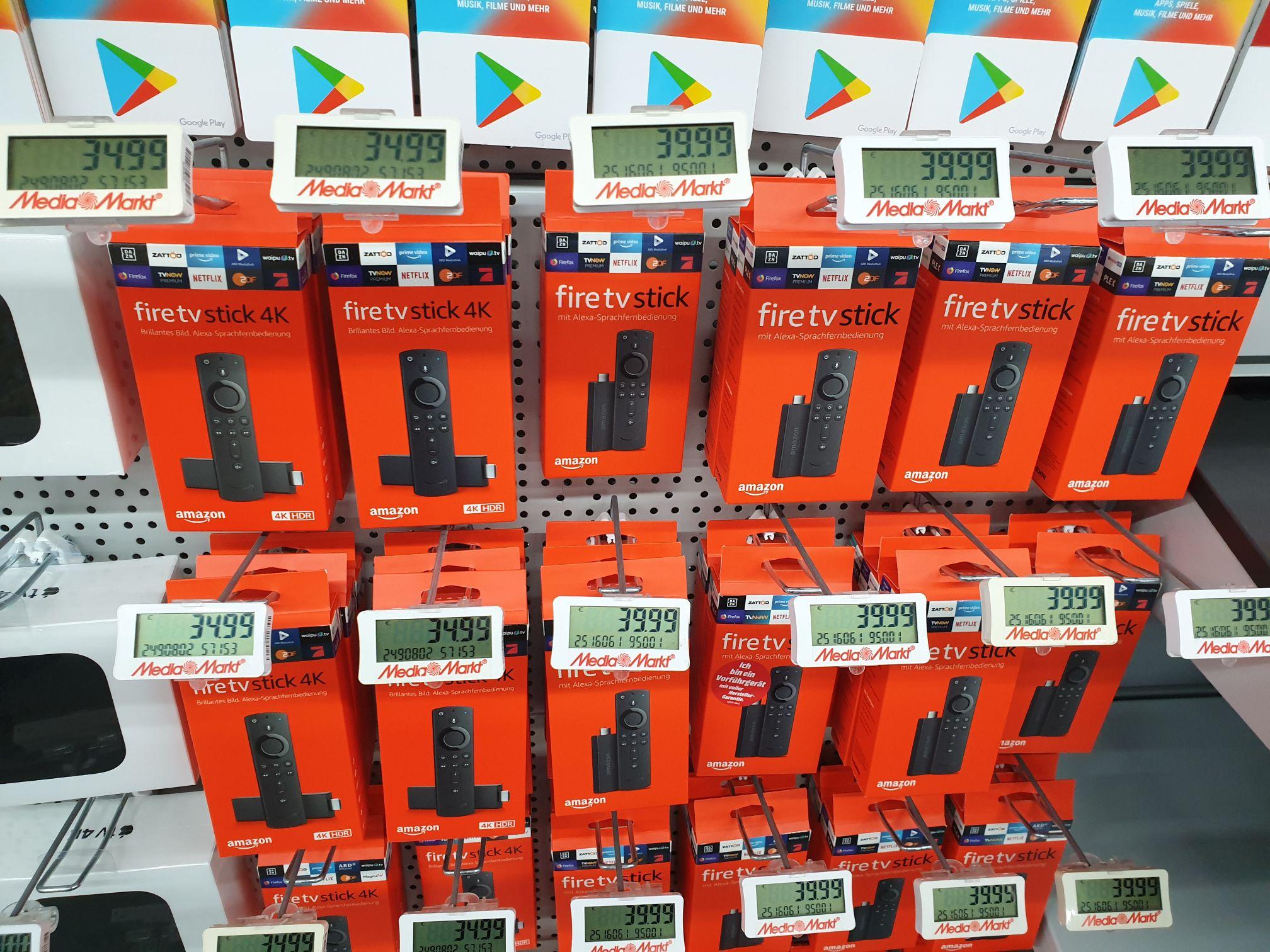[LOKAL] Amazon FireTV Stick 4K 34,99€ MediaMarkt Straubing