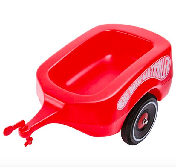 BIG Bobby car Anhänger rot