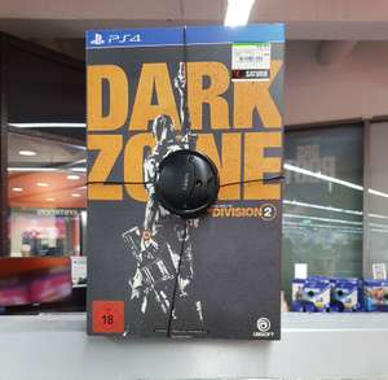 Lokal (München): Saturn Schwanthalerstraße The Division 2 PS4 Collector's Dark Zone Edition