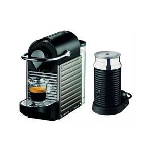 Krups XN 301T Nespresso Pixie Electric Titan mit Aeroccino³