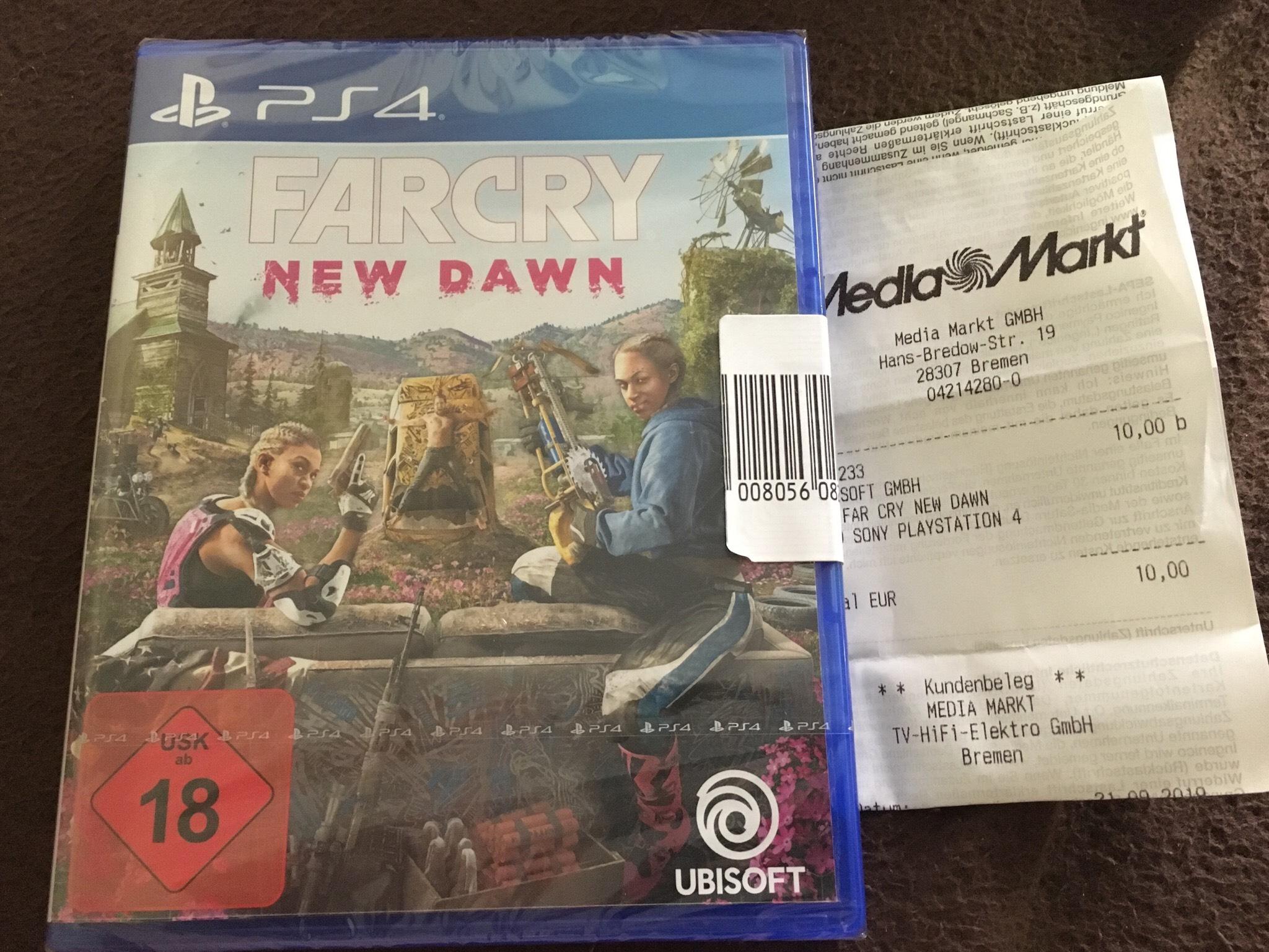 Media Markt [Bremen Weserpark] Far Cry New Dawn PS4