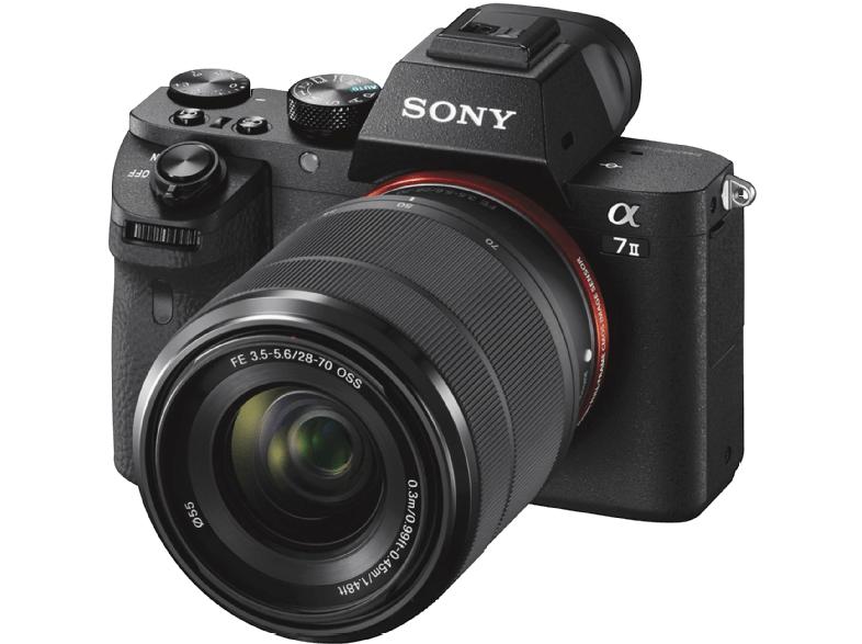Sony Alpha 7 II Kit mit 28-70 mm Vollformat Sony E-Mount