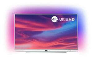 Update best Preis! PHILIPS 50 Zoll Fernseher 50PUS7304/12 4K UHD LED Android Smart TV Ambilight