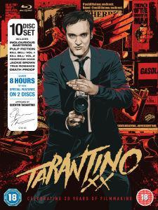 (UK)  Tarantino XX Blu-ray Box [10 x Blu-Ray] für umgerechnet ca. 60.84€ @ Sendit