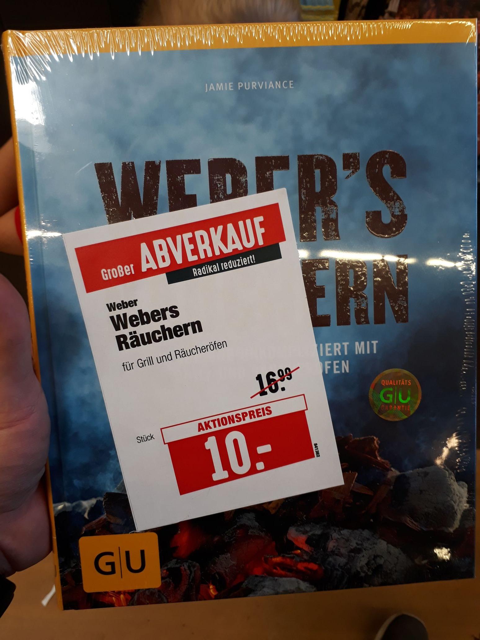 [Lokal Hellweg Gütersloh] Weber's Räuchern Buch