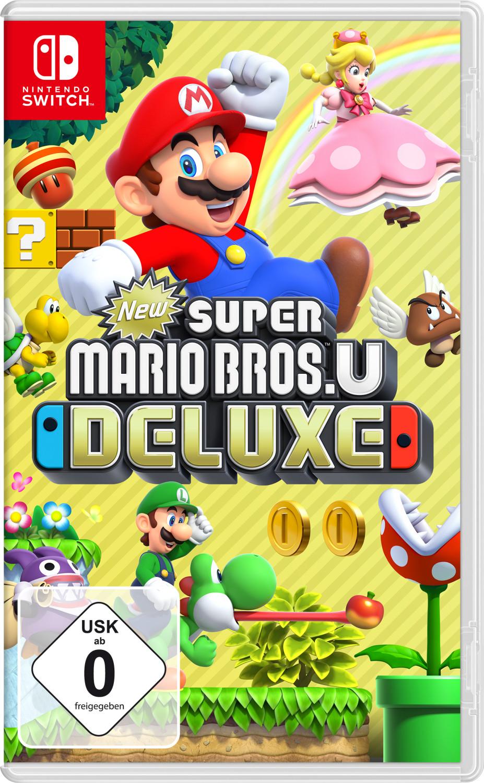New Super Mario Bros. U Deluxe - Nintendo Switch für 37€ inkl. Versandkosten [Saturn/Amazon]