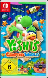 Yoshi's Crafted World - Nintendo Switch für 39€ inkl. Versandkosten [MediaMarkt/Amazon]