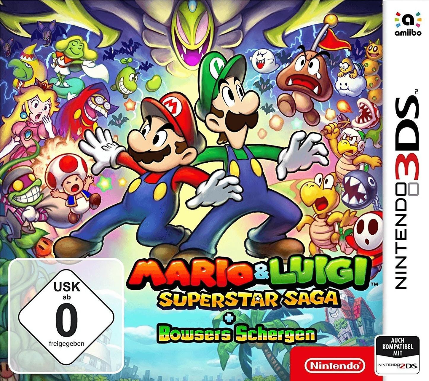 Mario & Luigi: Superstar Saga + Bowsers Schergen (3DS) für 10€ versadkostenfrei (Saturn)