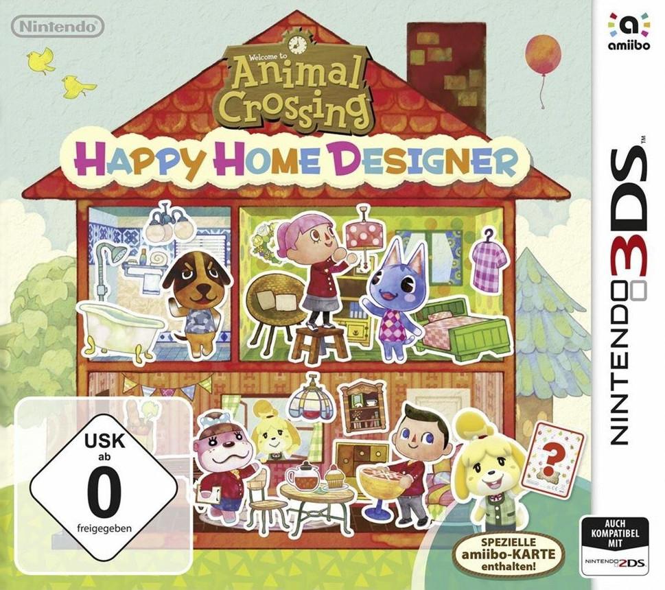 Animal Crossing: Happy Home Designer (3DS) für 10,03€ versandkostenfrei (Saturn & Amazon Prime)
