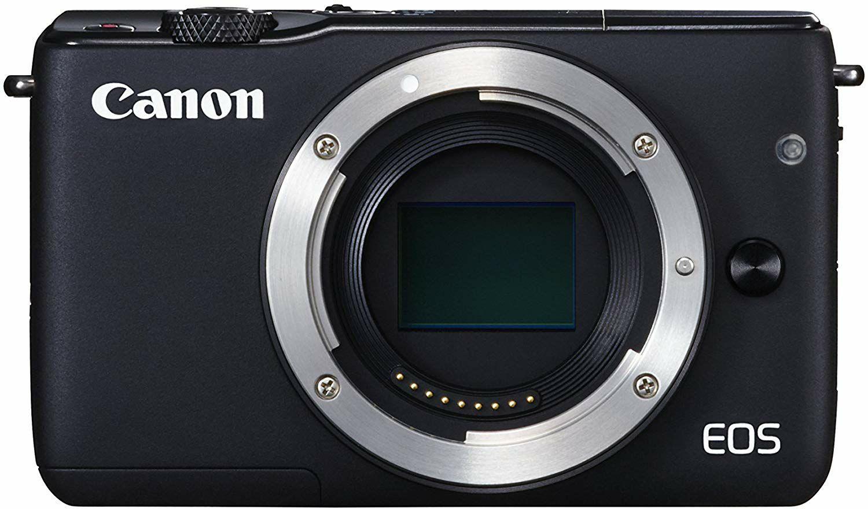 Canon EOS M10 Systemkamera (18MP, 3 Zoll Display, STM, WLAN, NFC, 1080p, Full HD)