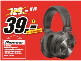 [Regional Mediamarkt Frankfurt NWZ ab 23.09] Pioneer SE-MS7BT-K BT HiFi Kopfhörer Over Ear NFC, Lautstärkeregelung für 39,-€