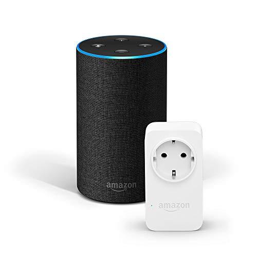 Amazon Echo (2. Gen.) + Amazon Smart Plug (WLAN-Steckdose) [Amazon]