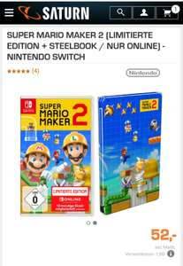Super Mario Maker 2 Limited Edition + Steelbook