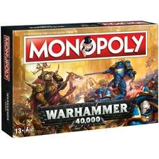 "Winning Moves Monopoly Brettspiel ""Warhammer 40K"" [ALTERNATE]"