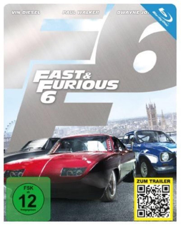 Fast & Furious 6 - Kinofassung & Extended Harder Cut Steelbook Edition (Blu-ray) für 4,99€ versandkostenfrei (Saturn)