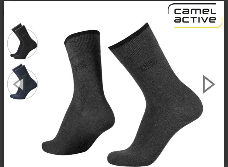 9 Paar Camel Active Socken versch. Farben u. Größen incl. Versand