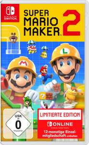 Super Mario Maker 2 Limited Edition (Nintendo Switch) für 46,90€ inkl. Versand (eBay)