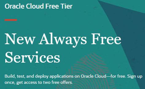 Dauerhaft kostenlose VMs, Speicher und/oder Datenbanken in der Oracle Cloud