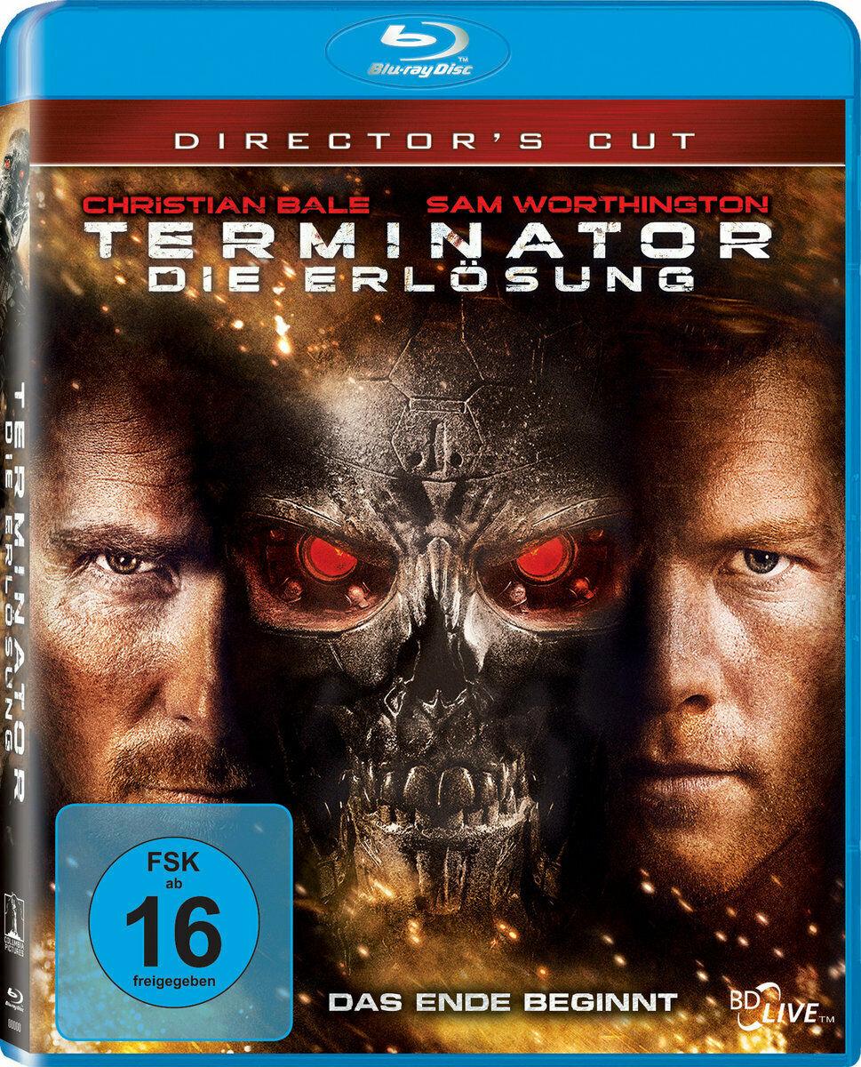 Terminator - Die Erlösung (Directors Cut Blu-ray) für 3,86€ (Dodax)