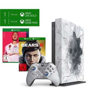 Xbox One X Gears of War Collectors Edition + Fifa 20 + Red Dead Redemtion 2 + GTA 5 [Lokal: Saturn Frankfurt-Zeil)
