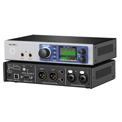 RME ADI-2 Pro FS (grau) High-End USB/AD/DA-Wandler und Kopfhörerverstärker (Made in Germany)
