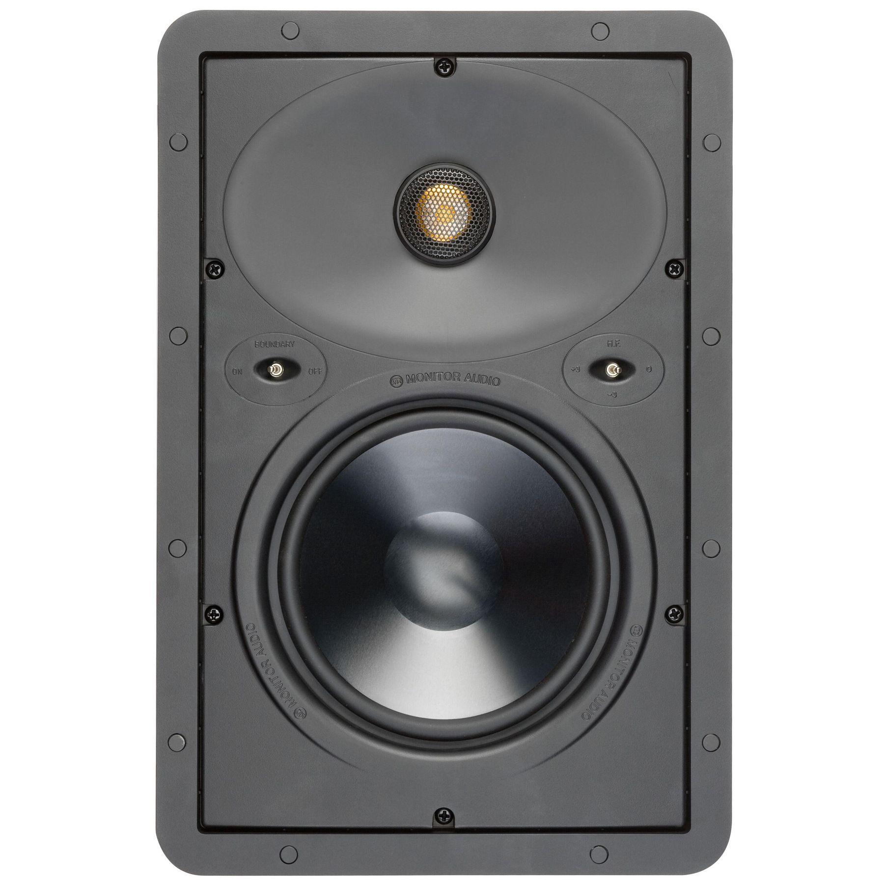 Monitor Audio W265 - Einbaulautsprecher (Stückpreis, 2-Wege, 16,5cm Treiber, 55Hz bis 30kHz, 89dB, 6Ω)