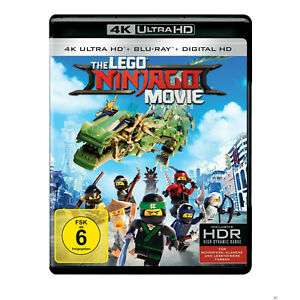 [eBay MediaMarkt] Lego Ninjago Movie 4k UltraHD Bluray
