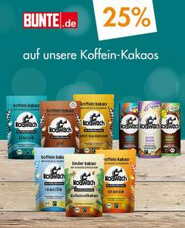 koawach: 25% Rabatt + vsk-frei + 100g Koawach Pfefferminz