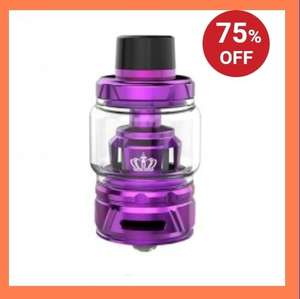 Uwell Crown 4 Sub Ohm Tank Aktion startet in 16 Stunden