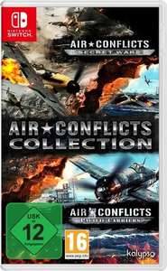 Air Conflicts: Collection - Air Conflicts: Secret Wars + Pacific Carriers (Switch) [Groovesland]