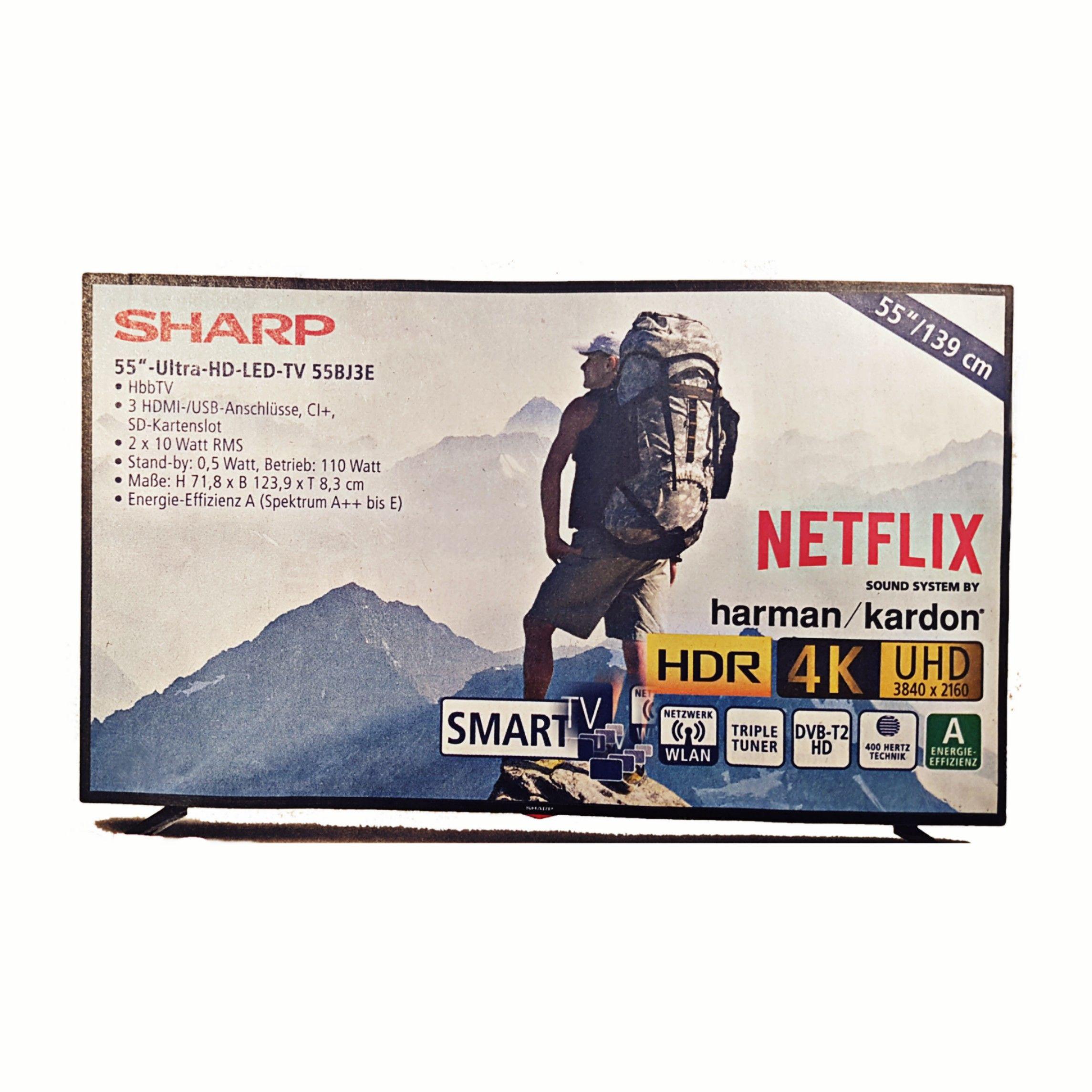 Sharp 4K Ultra HD LED TV 139cm (55 Zoll)
