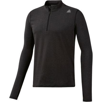 "Reebok™ - Herren Langarmshirt ""Essentials Quarter-Zip"" (Black) ab €15,29 [@Galeria.de]"