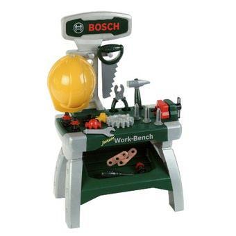 Schönes Weihnachtsgeschenk für Kinder Bosch Mini Werkbank @ Babymarkt