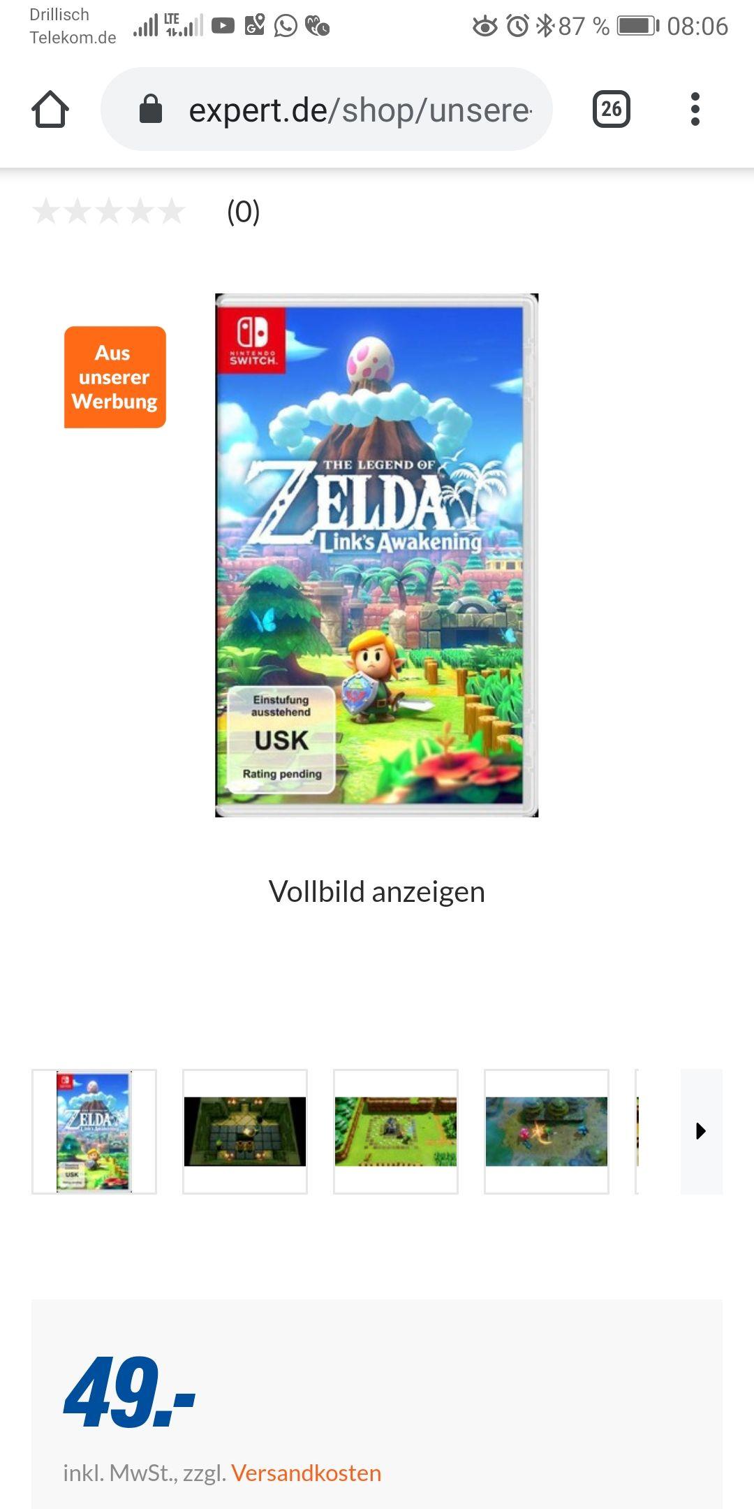 Lokal Neuötting Tevi Expert Nintendo Switch Zelda Links Awakening