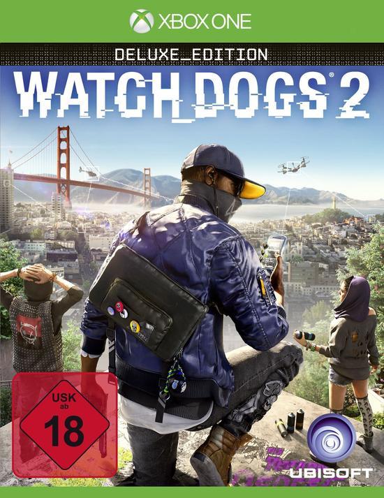 Watch Dogs 2 Deluxe Edition (Xbox One) für 14,99€ (GameStop)