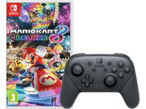 (Grenzgänger Saturn AT) Nintendo Switch Pro Controller + Mario Kart 8 Deluxe (Switch) für 83€