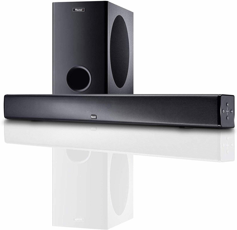 Magnat CSB 1000: Soundbar mit Subwoofer (WLAN, Bluetooth, aptX, HDMI)