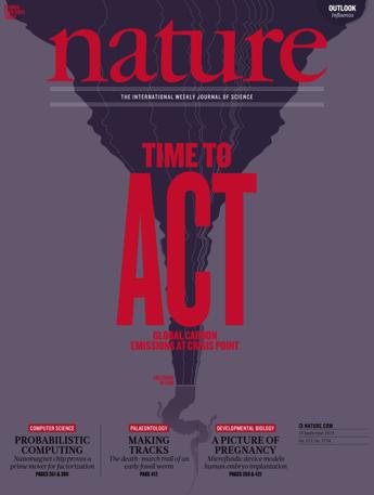 Nature Magazin Abo (51 Ausgaben print + digital) + Online-Zugang zu Nature Insights, Outlooks und Collections für 99,- €