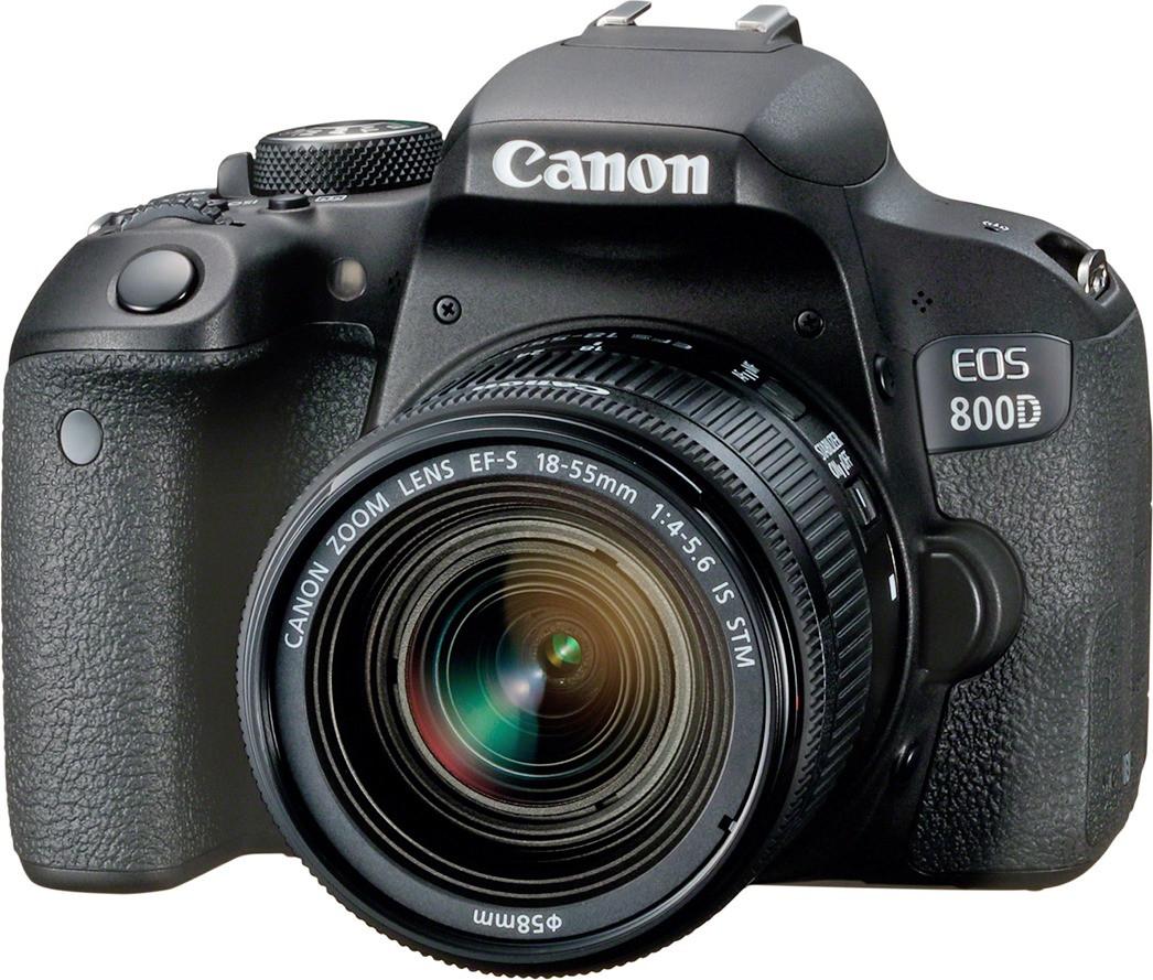 Canon EOS 800D + EF-S 18-55 IS STM Spiegelreflexkamera für 505€ inkl. Versandkosten [Computeruniverse ebay]
