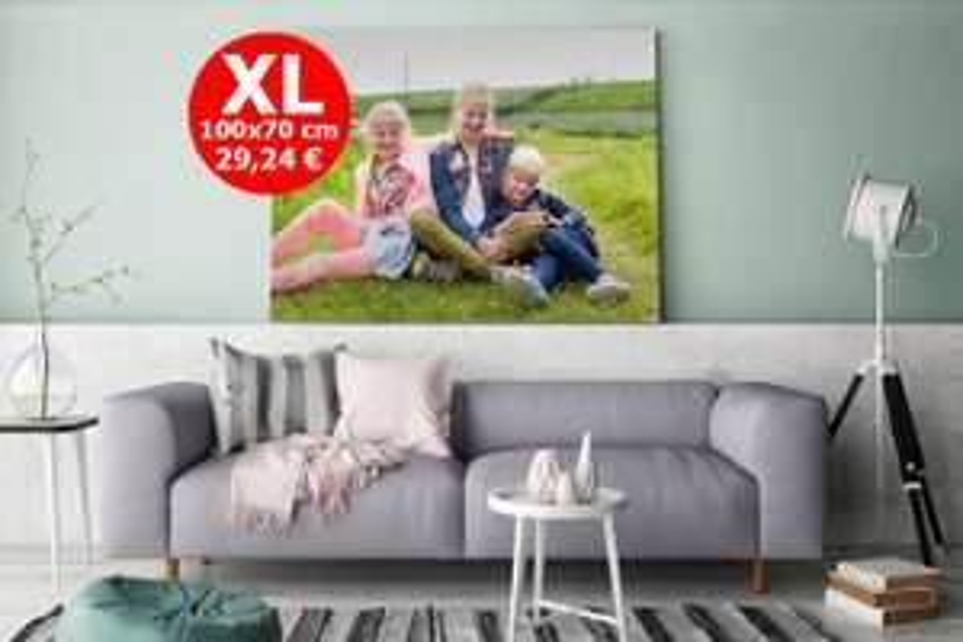 XL-Foto auf Aluminium - 3mm Dicke fur 36,19€ incl. VSK
