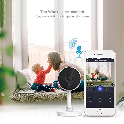 (Amazon) Woox R4071 Wifi Überwachungskamera (direkt und ohne Umwege über monocle mit Echo Show/Spot/Fire TV kompatibel)