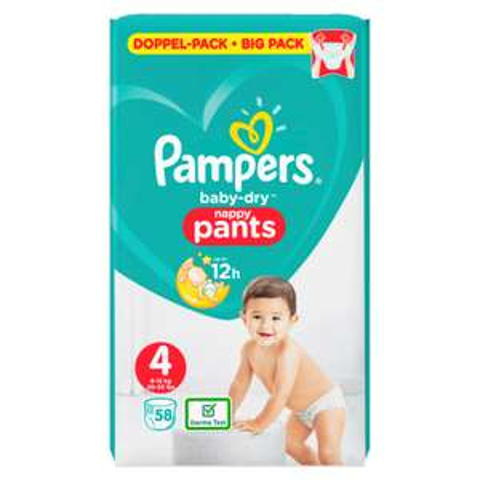 Pampers Baby-Dry Pants - Windeln im Doppelpack - Größe 4 / 5 / 6 - bei [Aldi Nord] ab 04.10.